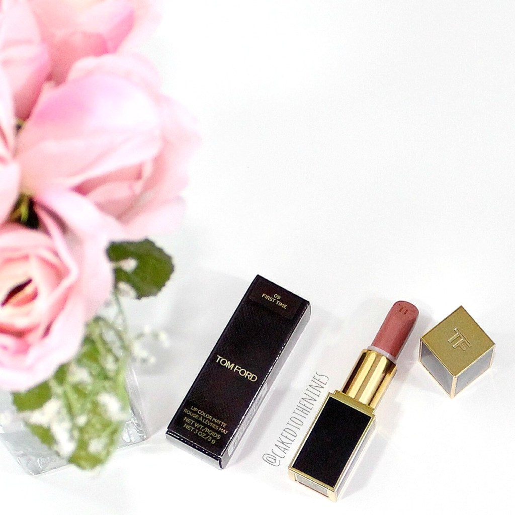 Tom Ford First Time lipstick and review.