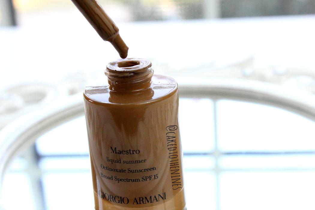 Giorgio Armani Liquid Summer Bronzer in #100 Sun Kiss review