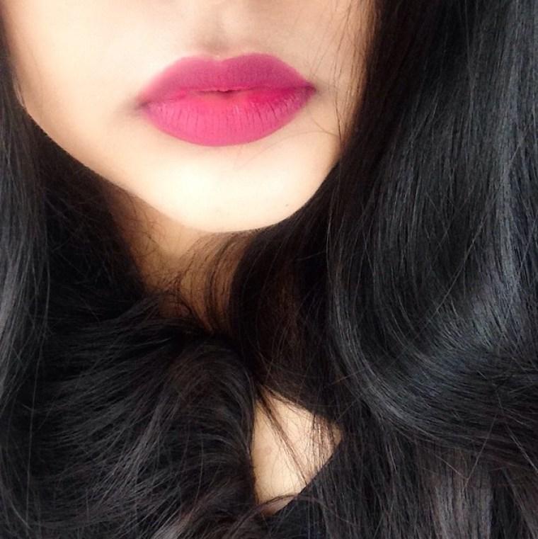 Kat Von D Bauhau5 liquid lipstick swatch