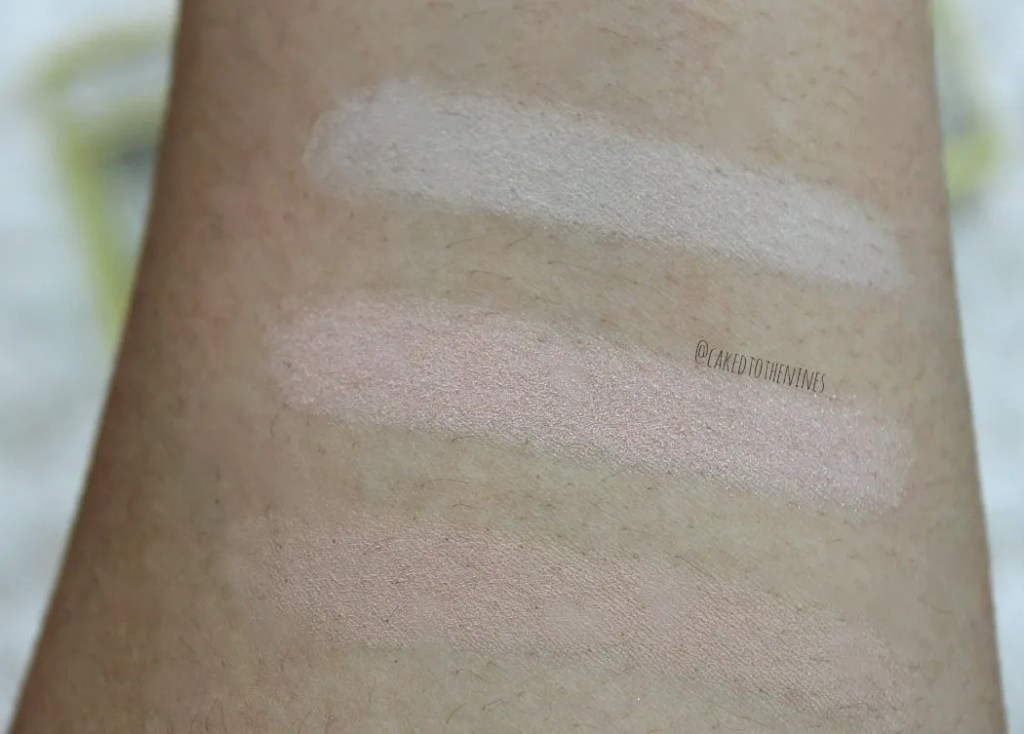 Hourglass Ambient Lighting Edit Palette | top to bottom: Diffused Light, Iridescent Strobe Light, and Dim Light