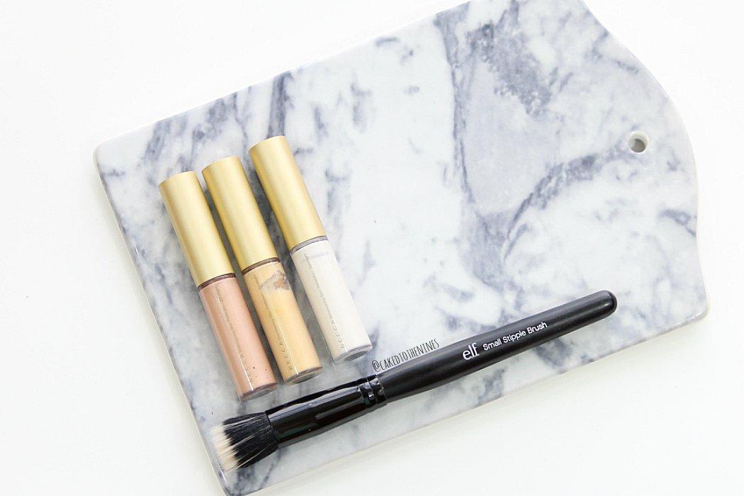 Becca Shimmering Skin Perfectors liquid, how to apply becca shimmering skin perfectors