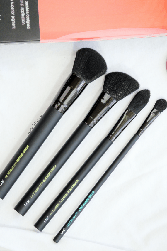 Lab 2 Beauty I'm Turning Pro brush kit, review