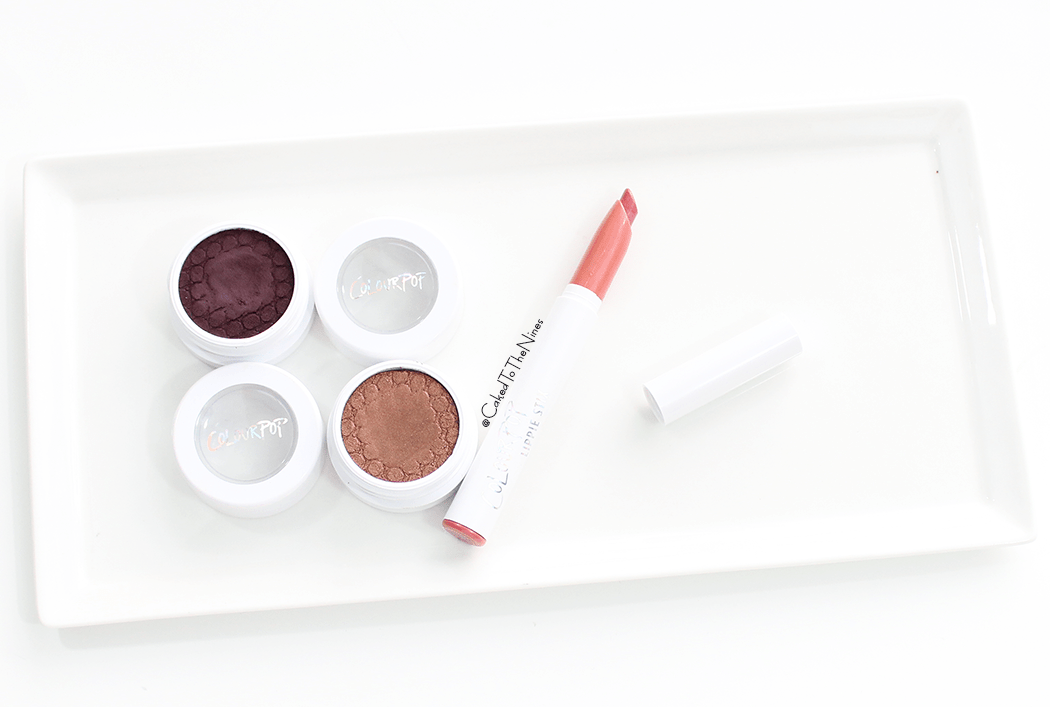 ColourPop Back To The 90s review and swatches