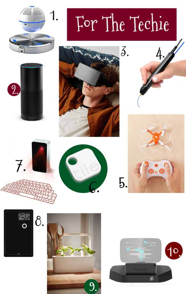 Gift ideas for the techie man, gift guide for him, gift ideas for him