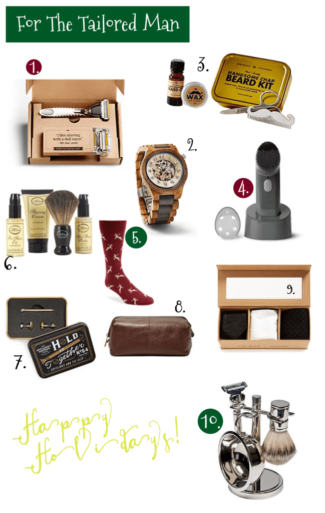 Gift ideas for the tailored man, Gift ideas for him