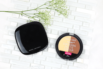 Marc Jacobs Contour Powder vs Wet n Wild Contouring Palette