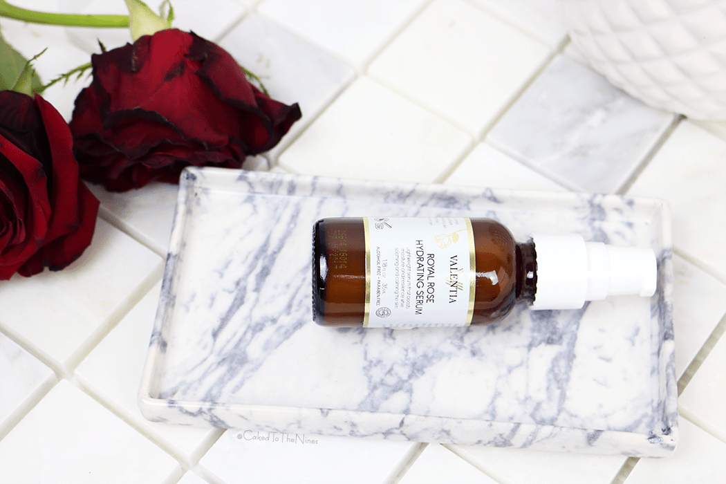 The Valentia Rose Hydrating Serum