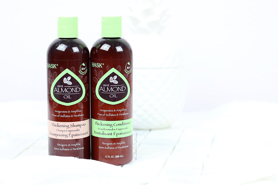 Hask Mint Almond Oil Shampoo and Conditioner