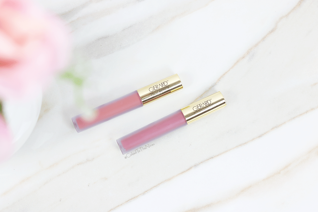 Gerard Comsetics liquid lipsticks worth the hype? Gerard liquid lipstick review