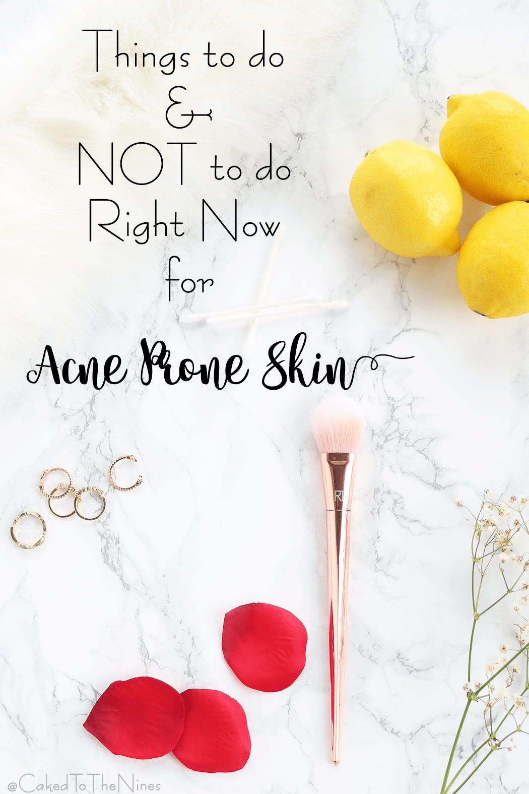 Things to do and not to do for acne prone skin. Things you should and shouldn't do right now for acne prone skin to help treat acne and heal any scars.