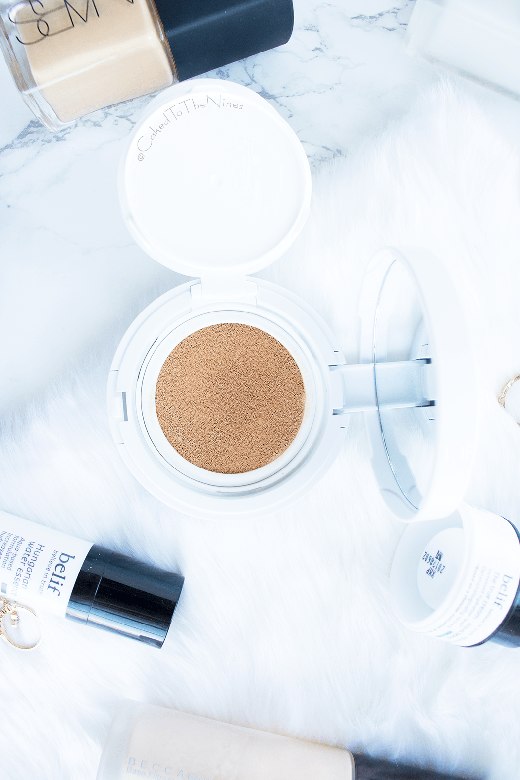 How to make your own DIY cushion foundation