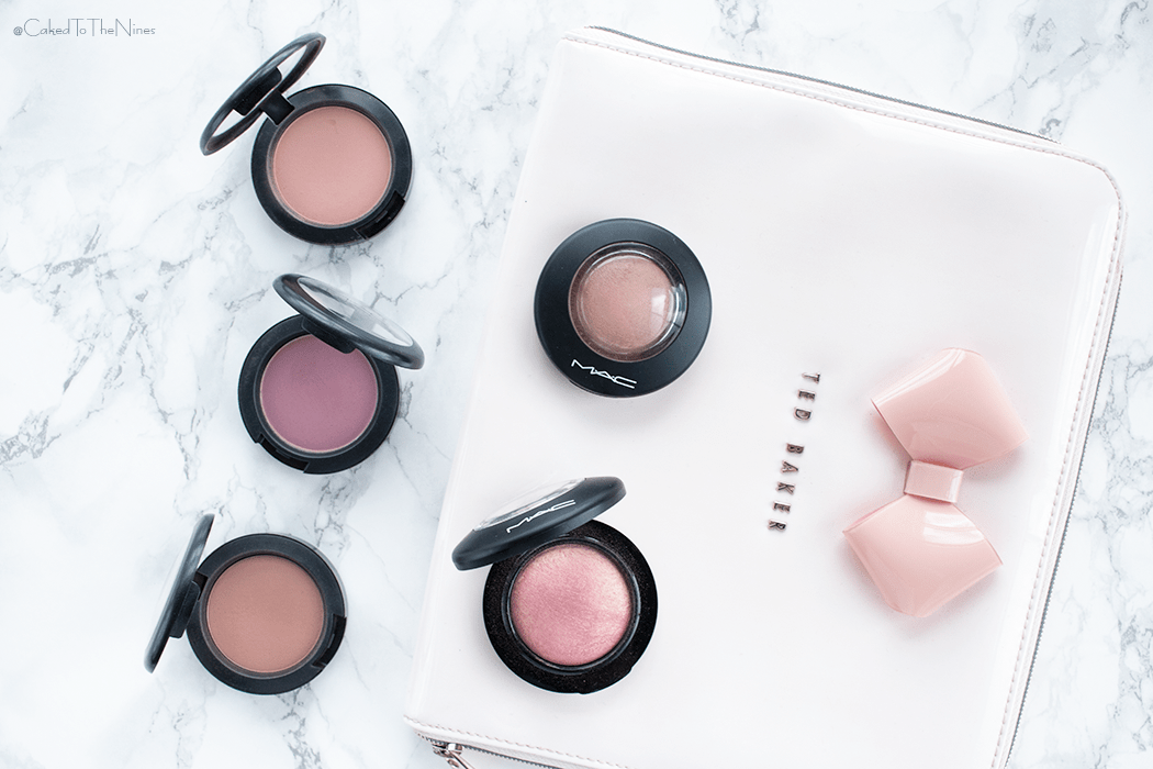 5 MAC blushes for medium skin. Petal Power, Warm Soul, Breath of Plum, Gingerly, Melba