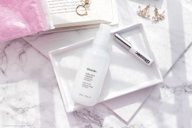 2 new Glossier products and my first impressions   Milky Jelly Cleanser and Boy Brow