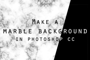 How To Create a Marble Background in Photoshop CC