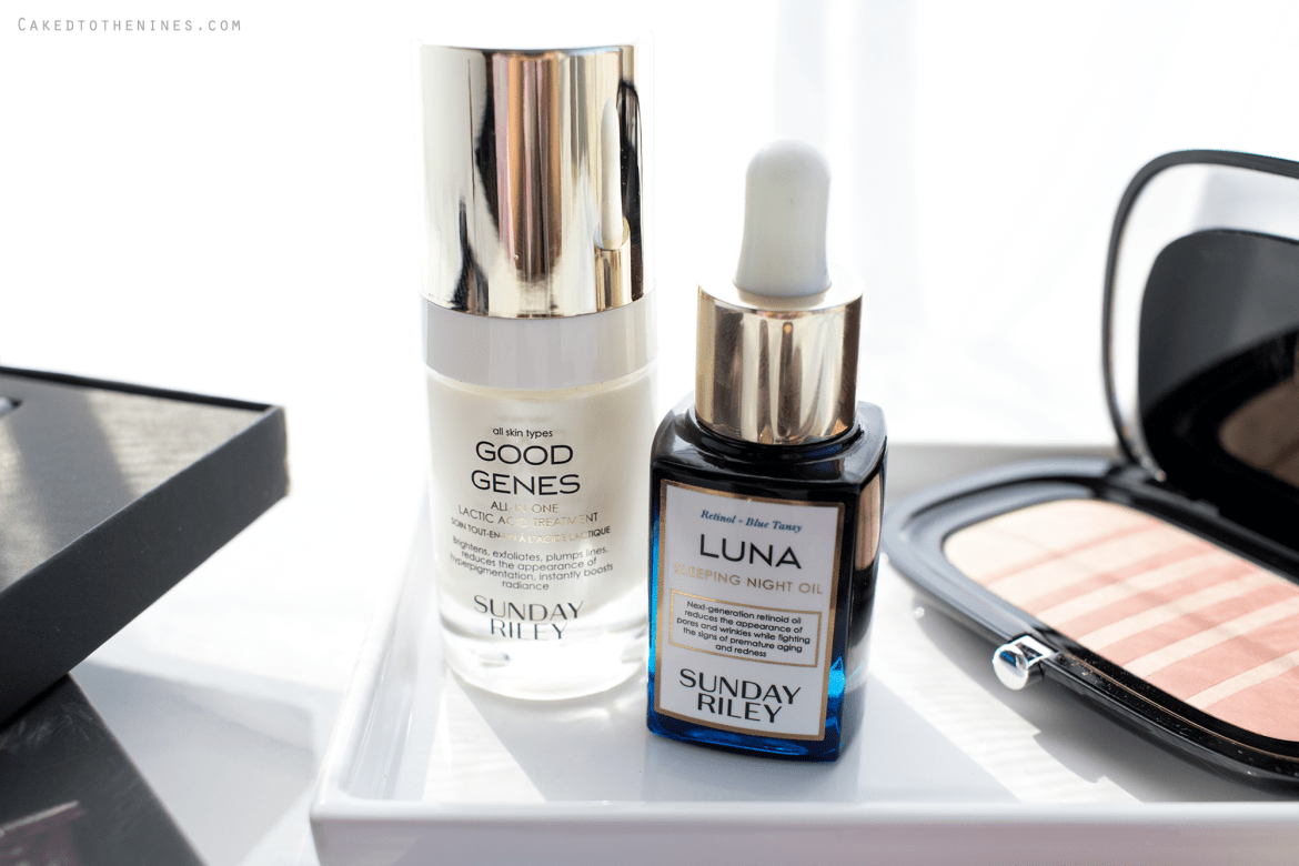 Sunday Riley Power Couple Duo Good Genes and Luna Oil