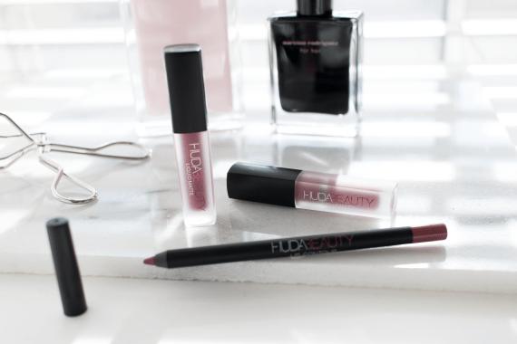 Are the Huda Beauty liquid lipsticks really worth the hype? Huda Beauty Trophy Wife, Huda Beauty Muse