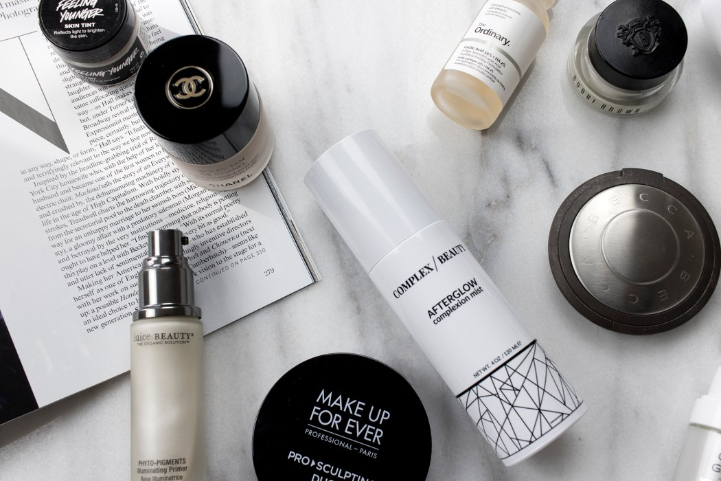 Skincare and makeup products that give your skin a gorgeous glow