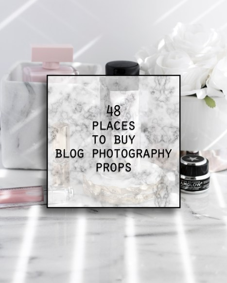 48 places to buy blog photography props (and most are inexpensive)