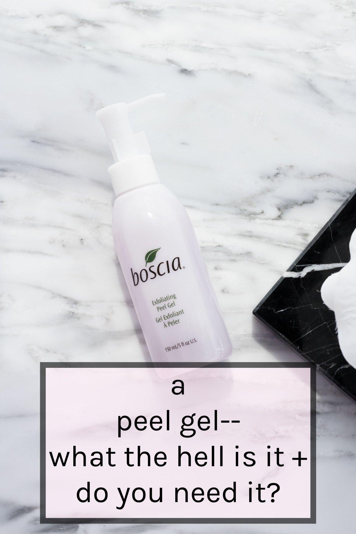 Boscia Peel Gel review