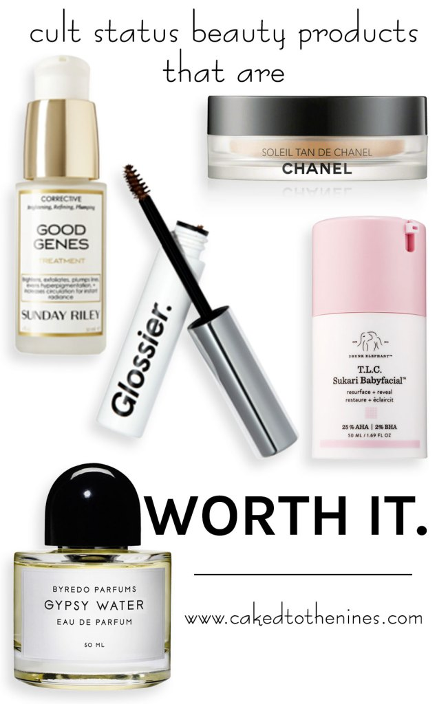 cult status beauty products worth it
