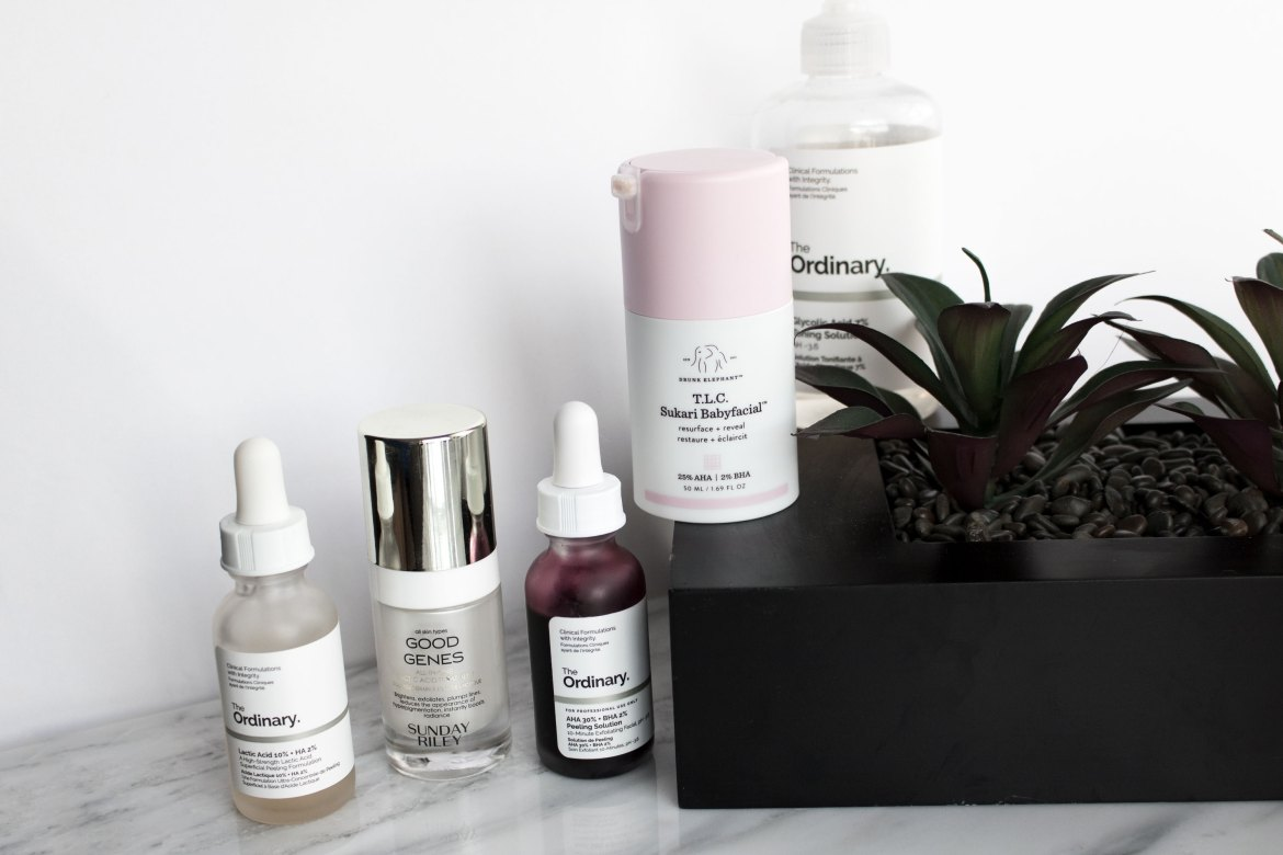 Skin Texture: The Products That Helped Me Get Rid of Mine-- lactic and glycolic acid treatments