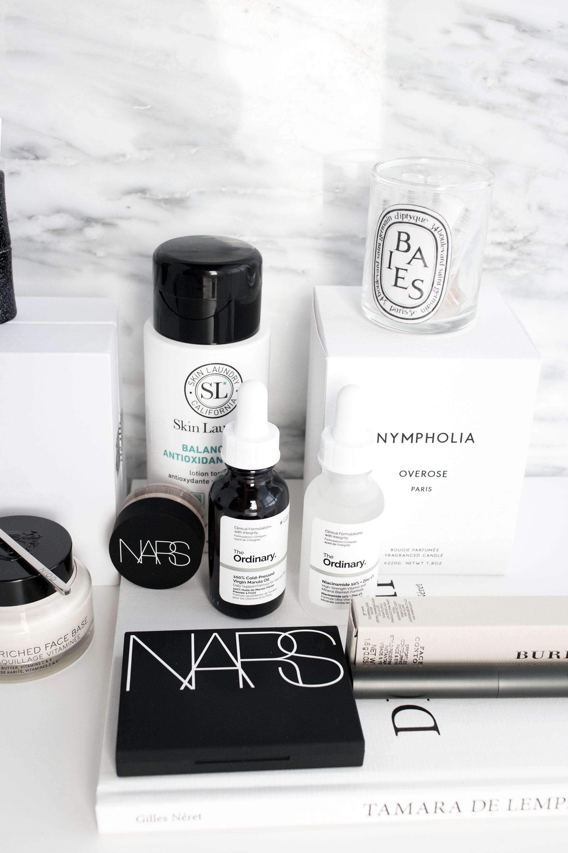 Sephora makeup and skincare haul; sephora haul; skin laundry, nars, ulta haul, bobbi brown, the ordinary