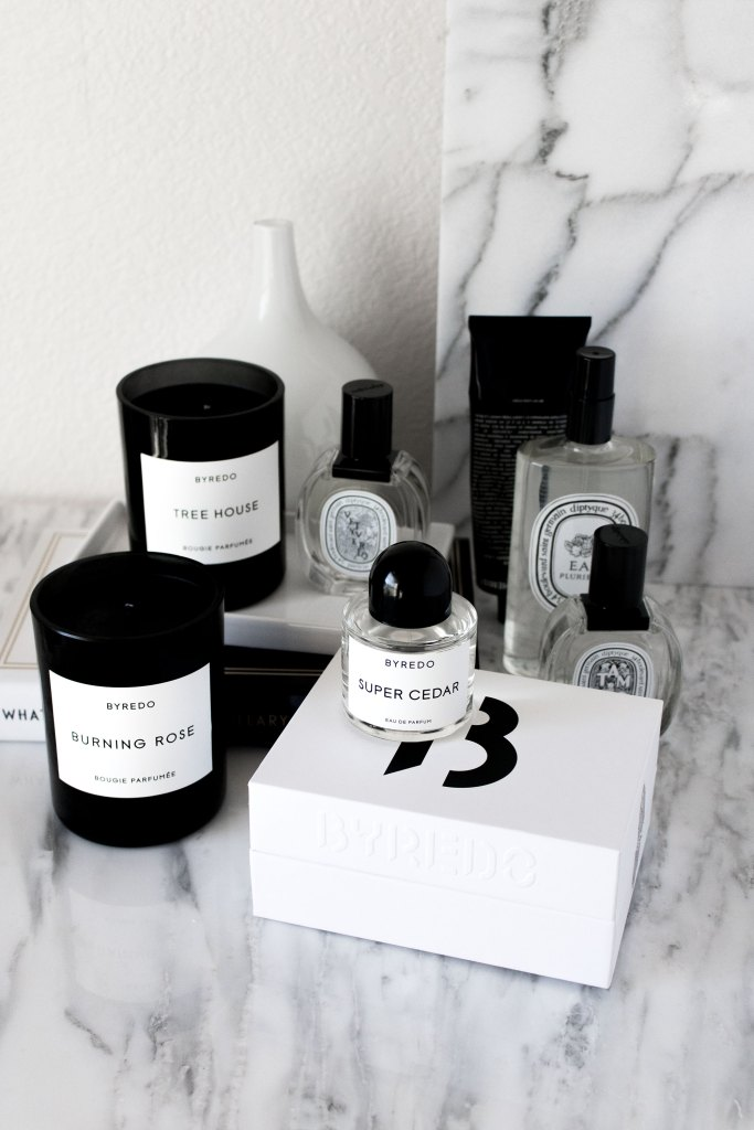 Black Friday haul, Byredo, Diptyque, Grown Alchemist, Glossier