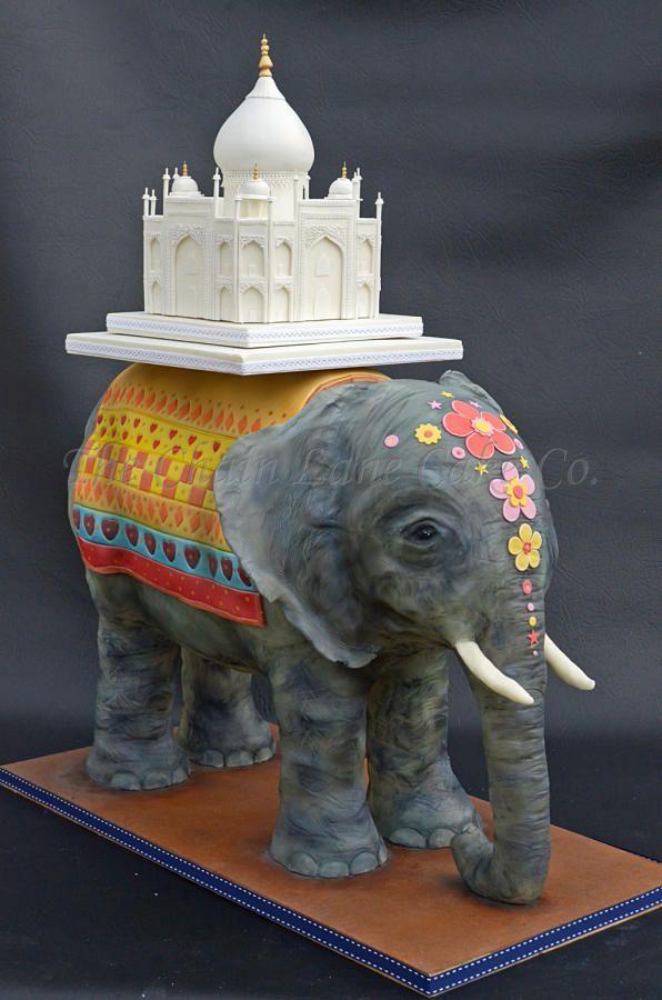 Elephant Cake : elephant, Elephant, Cakes, Trend, Tuesday, CakeFlix