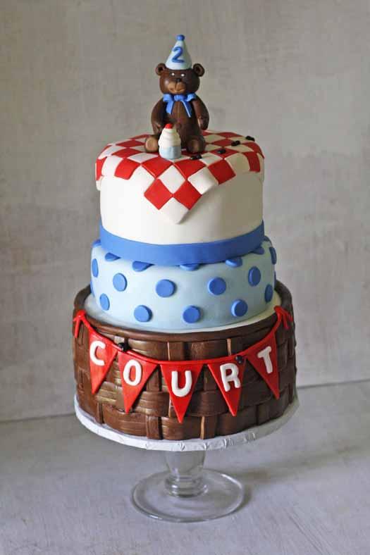 How to Make Fondant Basketweave  CakeJournalcom
