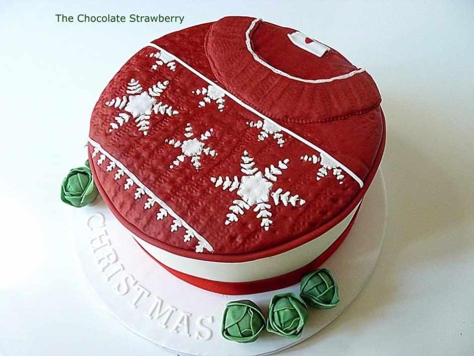Christmas Jumper Cake