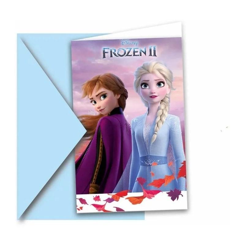 cartes d invitation reine des neiges 2
