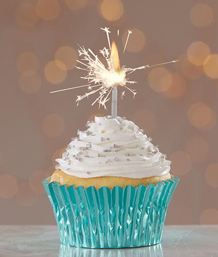 Sparkler Relight Cupcakes  Cake Mate