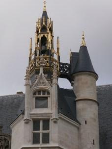 Cute little tower and bell arrangement