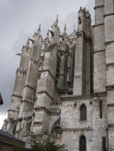 Side detail of the cathedral