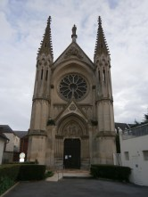 Front-on view of the cathedral