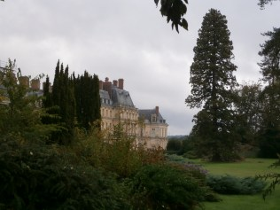 View of the buildings from the English Garden