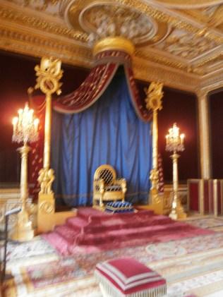 Napoleon's throne room