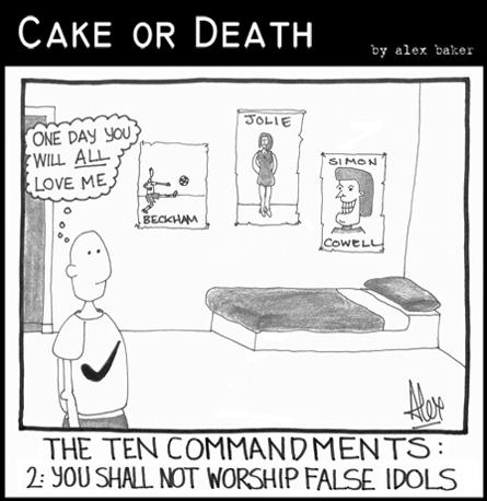 Blank Ten Commandments Cake Ideas and Designs