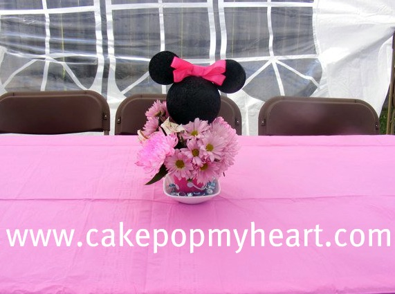 minnie mouse candy apples  Cake Pop My Heart