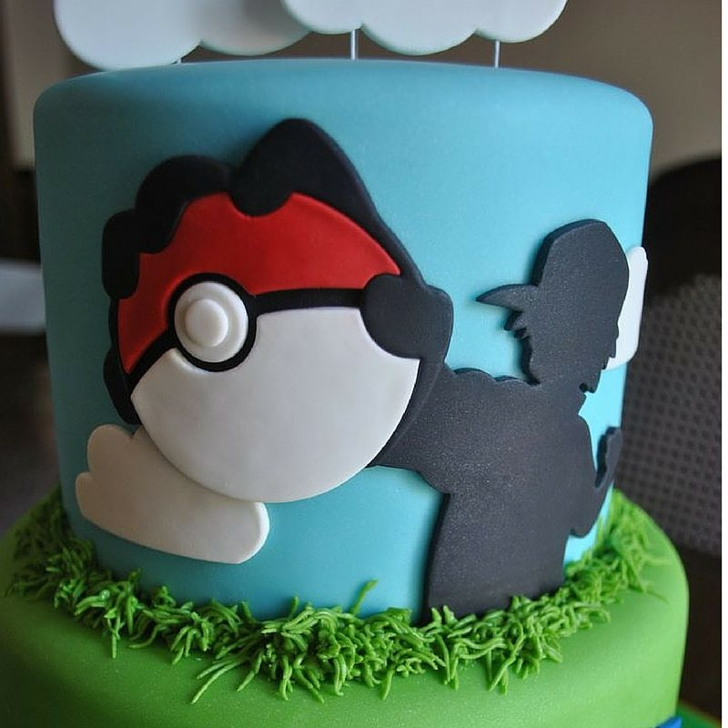 Go Pokemon Go The 23 Best Pokemon Cakes  Caker School
