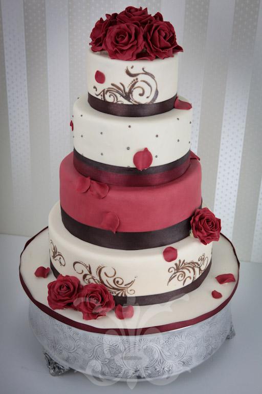 Hochzeitstorte  Fancy Wedding I  RITAThe Cakery Torten