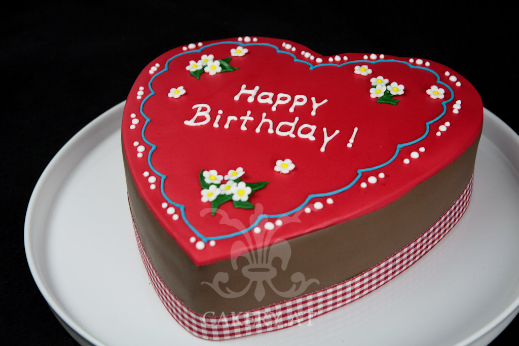 Lebkuchenherz Torte  RITAThe Cakery Torten der