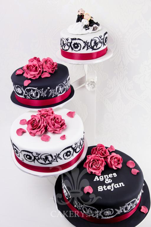 Modern Wedding II  RITAThe Cakery Torten der besonderen Art