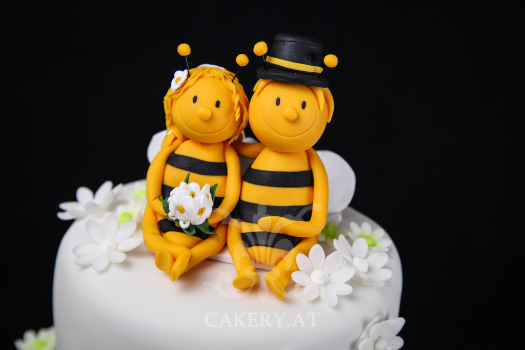 Hochzeitstorte Wedding Bees  RITAThe Cakery Torten