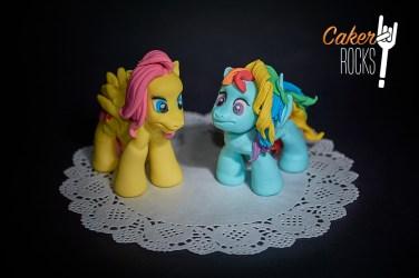 Modelado en azúcar My Little Ponny