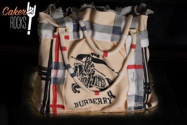 Tarta Bolso Burberry