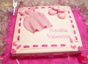 Tarta de Bautizo Natalia