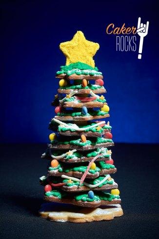 Árbol de Navidad de Galleta