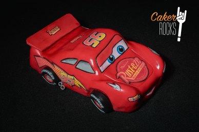 Tarta del Rayo McQueen