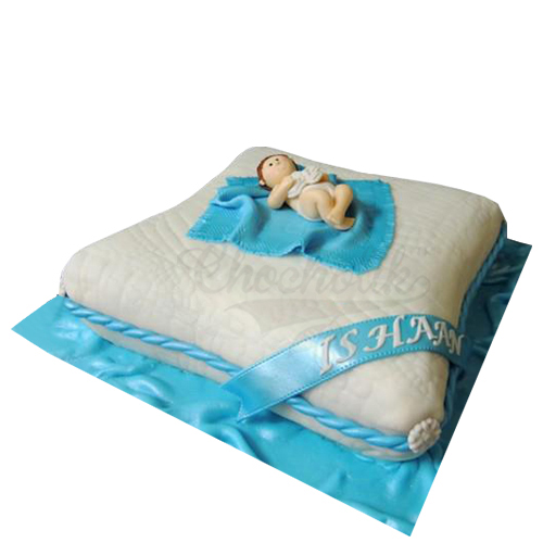 Baby Bed Cake